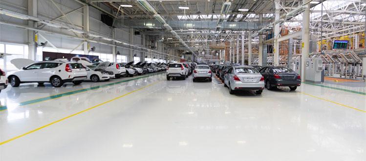 Factory Epoxy Floor